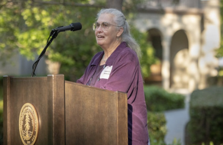 photo of Dorothy Attneave at podium / by Linda Cicero