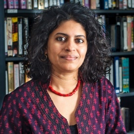 photo of Usha Iyer, assistant professor of film and media studies