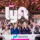 photo of Lyft IPO celebration